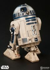 Star Wars R2-D2 1/6 scale figure by Sideshow~Droid~Jedi~C3PO~Luke~NIB