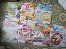 7 Better Homes & Gardens Magazines 20012 2013 Recipes Home Projects Decoration
