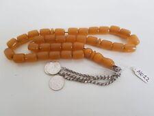 Old Bakelite Misky Worry Prayer Beads Tasbih Masbaha Rosary Antique Vintage MO12