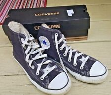 CONVERSE ALL STARS CHUCK TAYLOR M-5 W-7 HIGH TOP SNEAKERS BLACK LACE UP