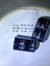 2pcs 390uF 450V NCC KMG105'c Snap-In Capacitor NEW