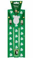 Adulto Trifoglio Bretelle Verde Irlanda Irlandese San PATRICK S Giorno  Costume d1d0961cc253