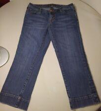 Seven jeans capri womens denim size 27 stonewashed