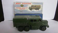 DINKY SUPERTOYS . MEDIUM ARTILLERY TRACTOR ..N° 689