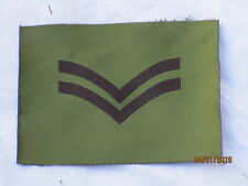 Distintivo rango: Corporale , per DPM Giacca, GB, ca. 90 x 100mm