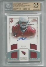BGS 9.5 2013 National Treasures PATCH/10 AUTO Andre Ellington RC CARDINALS 2/25