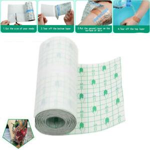 1M Waterproof Tattoo Bandage Roll Adhesive Wound Dressing Plaster Fixer tape