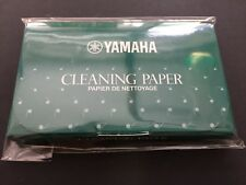 YAMAHA Cleaning Paper 70 Sheets CP3 Woodwind Instrument Maintenance from JAPAN