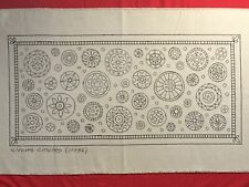 New listing Whimsy Rugs Rug Hooking Pattern - Circle Circus - 17 x 36 on Monks Cloth
