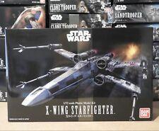Bandai X-Wing Starfighter 1/72 Model Kit Star Wars Luke Skywalker UK SELLER