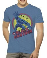 Marvel The Black Panther Mens Comic Book Graphic T Shirt  - Size Large