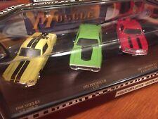 Road Legends 1:43 Muscle Car 3 Car Set . 68 Shelby, 71 GTX, 67 Camaro Z/28.