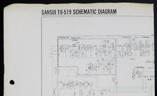 SANSUI tu-519 Original Servo Locked Tuner SCHEMATIC DIAGRAM o151