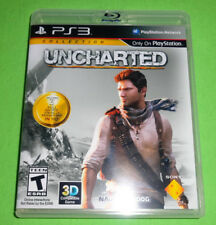 Empty Case!  Uncharted 1 2 3 PlayStation 3 Bundle PS3 Lot Nathan Drake Adventure