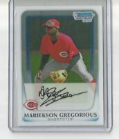 2011 Bowman Chrome Prospects BCP209 Mariekson Didi Gregorious RC Rookie Card