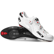 New SIDI WIRE Carbon Road Bike Cycling Shoes White White EU38.5-42 US warehouse