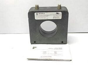 Square D 64R-101 Current Transformer Ratio 100:5 Precision 2.4B0.2 B.I.L. 10kV