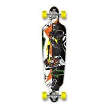 Yocaher Punked Drop Through Dj Longboard Complete