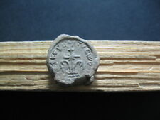 BYZANTINE EARLY MEDIEVAL LEAD SEAL BULA 7-9 ct. A.D. 26 mm