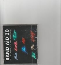 Band Aid 30- Do they Know it's Christmas UK 4 version cd single