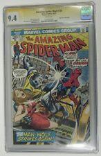 AMAZING SPIDER-MAN #125 - Origin Man-Wolf - Stan Lee Signature Series - CGC~ 9.4
