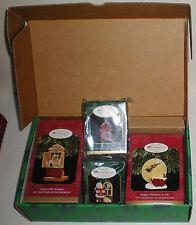 1997 Collectors Club Kit Hallmark Night Before Christmas Ornaments Set Of 4  NIB