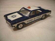 RARE 60,s IMPALA ISRAELI POLICE CAR, SABRA GAMDA CRAGSTAN, 1:43  EX-, PROTOTYPE?