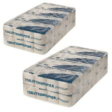 128 Rollen Premium Toilettenpapier RC Tissue weiss 2-lagig 250 Blatt Klopapier