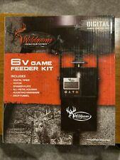 WILDGAME INNOVATIONS 6V Game Feeder Kit w/ Digital Power Control Unit | TH-6VD