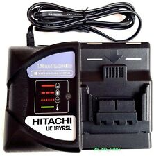 New Hitachi UC18YRSL 18V Battery Charger For BSL1430, BSL1840, BSL1830, BSL1815