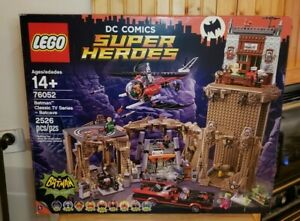 LEGO 76052 DC Comics Super Heroes BATMAN Classic TV Series BATCAVE Sealed In Box