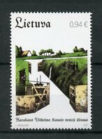 Lithuania 2017 MNH Technical Monuments King Wilhelm Canal & Gateway 1v Stamps
