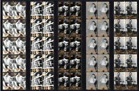 LASZLO PAPP BOXING LEGEND SET OF 5 MINT VIGNETTE STAMP STRIPS