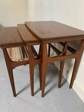 A Rare Set Of 3 Danish Mid Century Tables By Erling Torvits