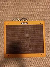 "Fender Blues Junior Lacquered Tweed 1x12"" Tube Guitar Amp 230 Watt German Model"