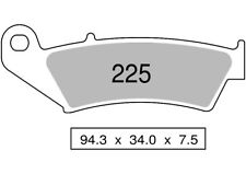 Paire de plaquettes de frein avant fritté CANNONDALE 440 X 440 2003  225 TROFEO