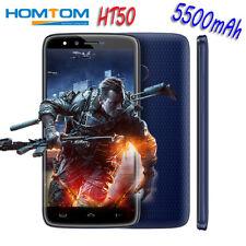 5500mAh HOMTOM HT50 4G Smartphone 32GB Android7.0 Handy Fingerprint LED Dual SIM
