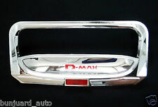 Isuzu D-Max 2012 Onwards Chromed Tailgate Handle Cover Protector Trim Accessorie