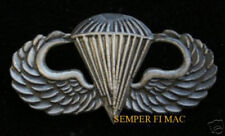 US MARINES PARACHUTE WING BADGE HAT PIN ANGLICO RECON NAVY UDT SEAL TEAM USS FMF