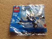 Lego City 30018 - Police Plane Polybag Mint New & Sealed Minifigure FREE POST UK