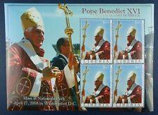 Liberia 2008 le pape Benoît XVI Pope Benedict USA-Voyage 5397 Klein Arc ** Neuf sans charnière