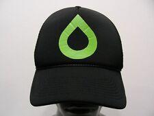 Vert Égouttement Logo - Taille Unique Camionneur Style Casquette Snapback Boule