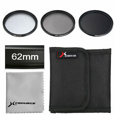3pcs 62mm ND2 ND4 ND8 Neutral Density Lens Filter Set for Canon 700D 650D LF287
