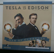 Tesla vs Edison Board Game