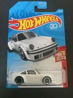2018 Hot Wheels #44 Then and Now 2/10 PORSCHE 934 TURBO RSR White w/Black MC5 Sp