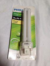 BNIB Philips Alto CFL Light Bulb PL-C 835/4P/XEW G24q-3 4-Pin 26W/21W