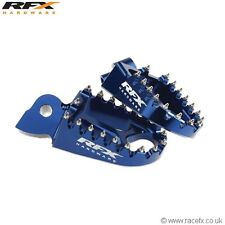 New Trick Blue Wide Foot Pegs YZ 125 250 YZF 250 426 450 99-17 YZ 85 Footrests