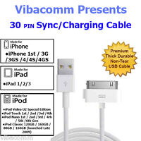 USB SYNC CABLE FOR iPOD NANO TOUCH iPHONE 3G 3GS 4 4G 4S CHARGER iPAD 1 2 3 LEAD
