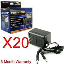 20 LOT AC Adapter Power Cord for SNES GENESIS NES Brand New In Box