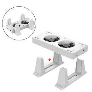 Vertical Stand for Xbox Series S Console w/ 2 Cooling Fan Dock Accessories